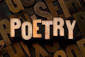POETRY - Letterpress type