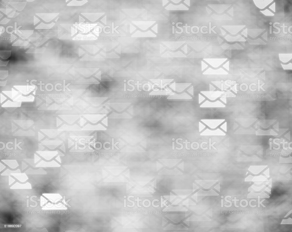 Letters concept stock photo