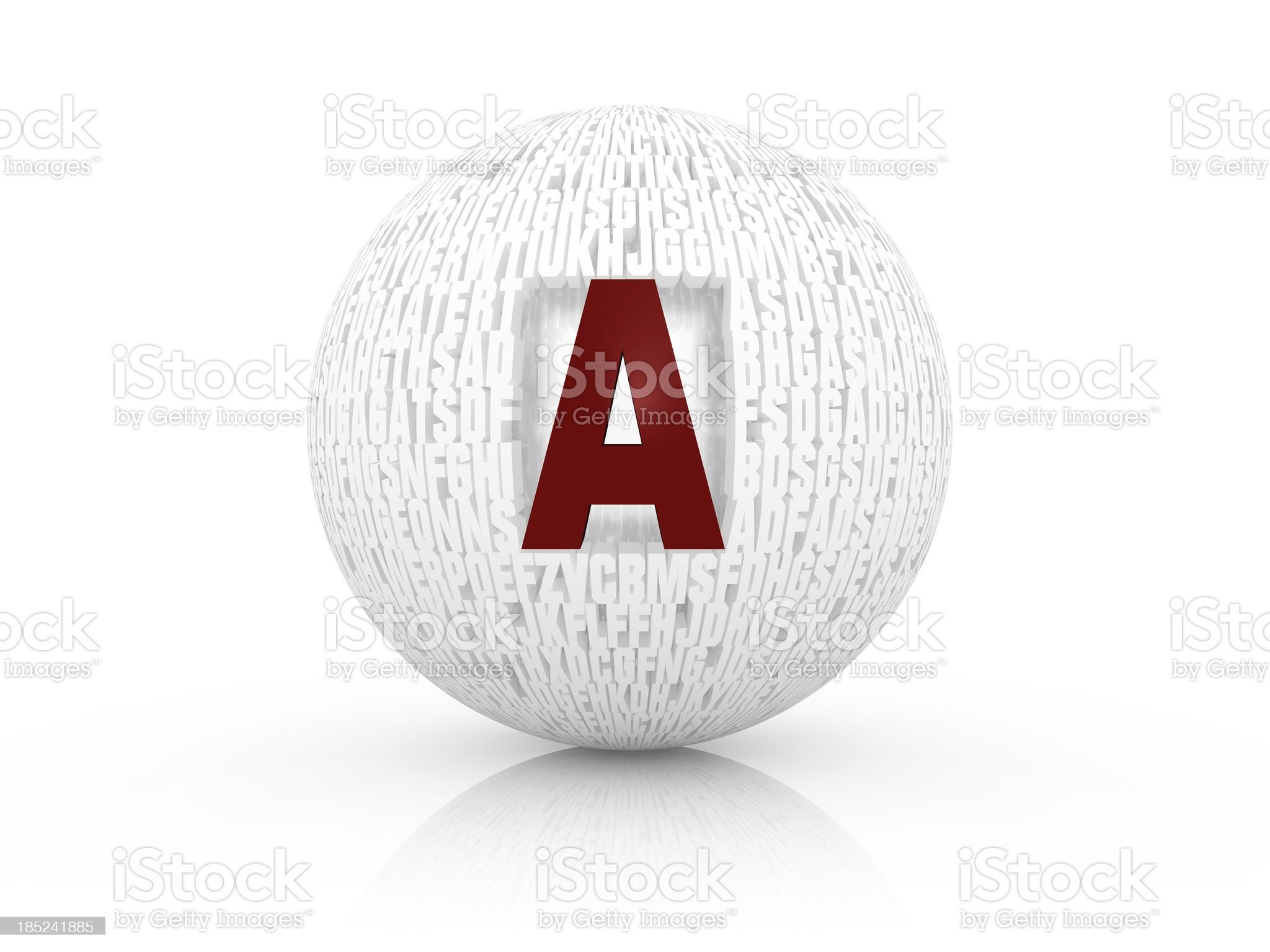 Letters Concepts royalty-free stock photo