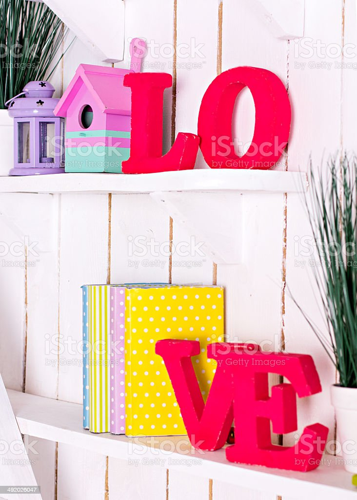 letters  'Love' stock photo