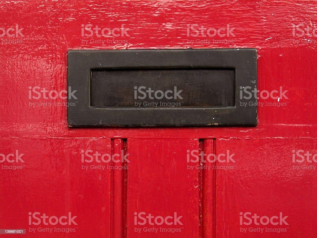 Letters slot stock photo
