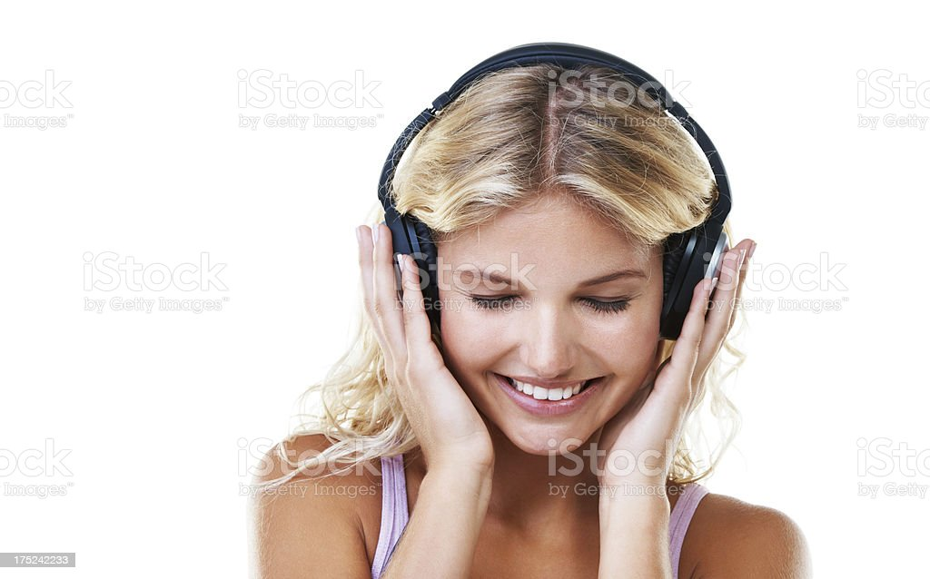 Letting the melody flow royalty-free stock photo