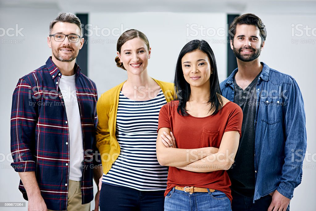 Letting their expertise lead the way stock photo