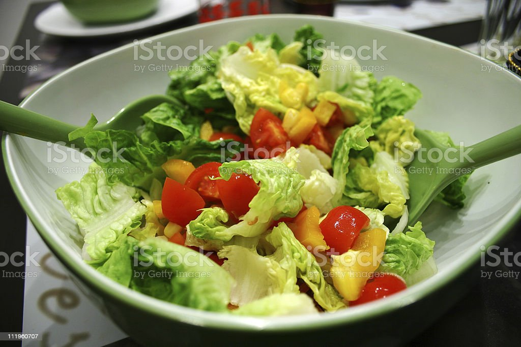 Gr?ner Salat stock photo