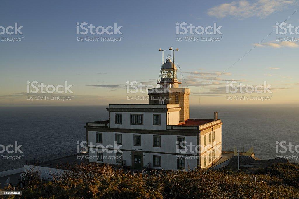 Leuchtturm Fisterre stock photo