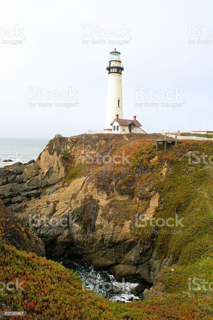 Leuchtturm Pazifikk?ste stock photo