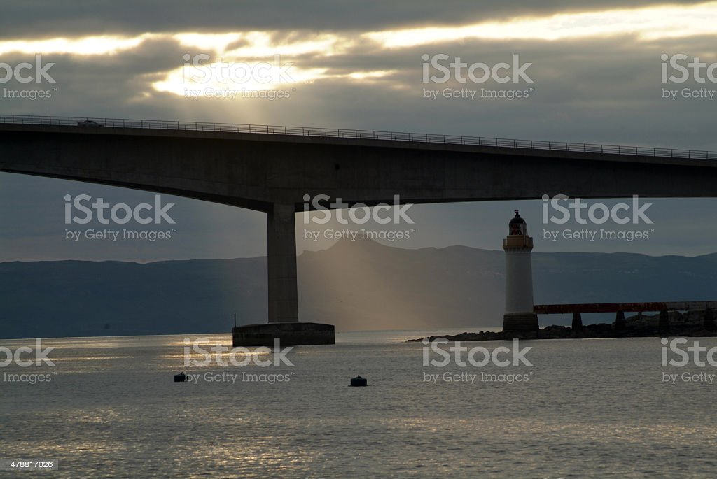 Leuchtturm stock photo