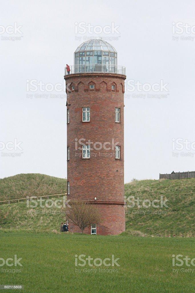 Leuchtturm R?gen stock photo