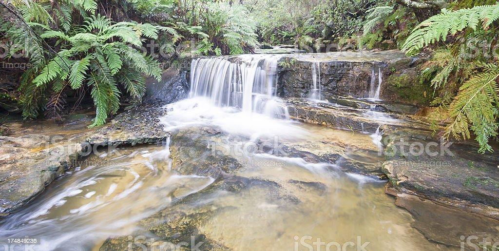 Leura Cascades stock photo