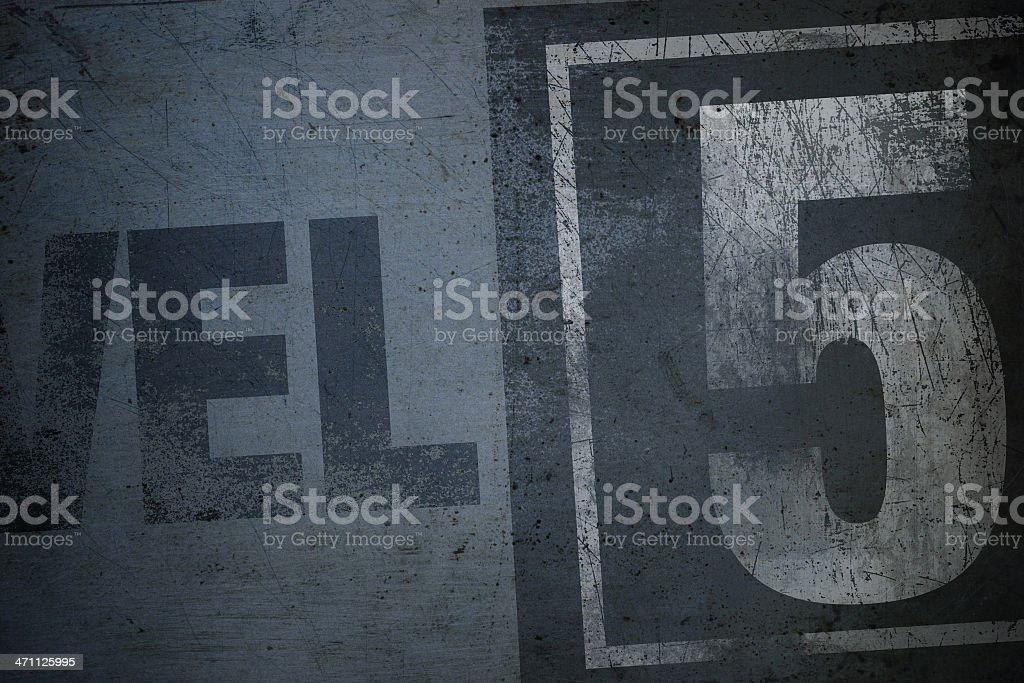 Level 5 royalty-free stock photo