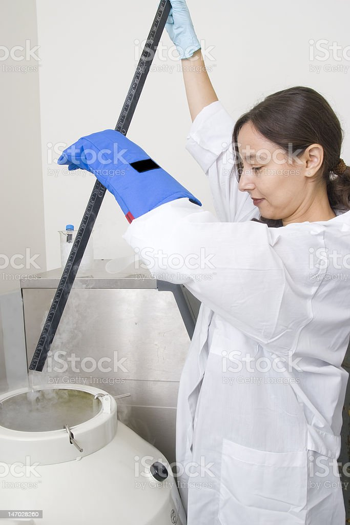 level dimension of liquid nitrogen royalty-free stock photo