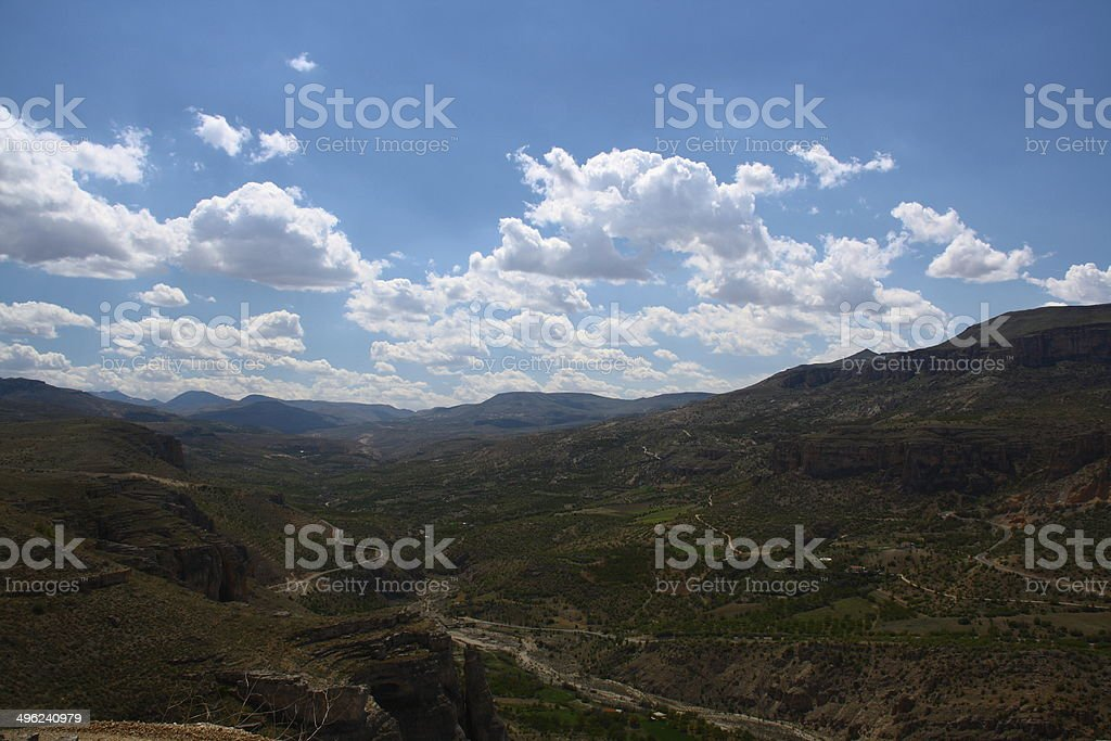 Levent valley stock photo