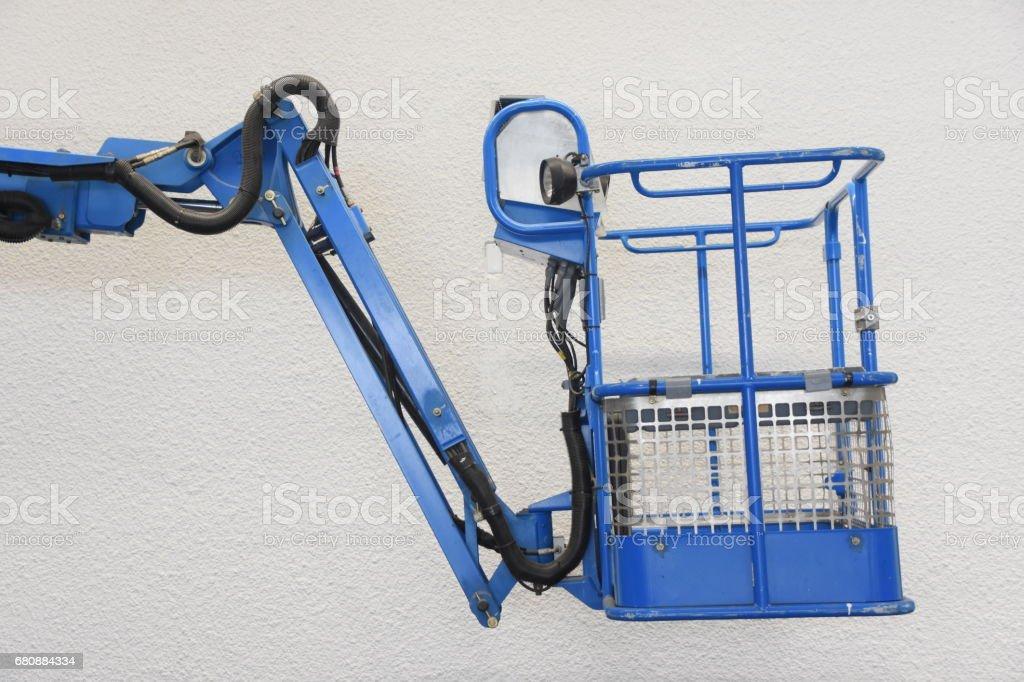 Lever basket  isolated on white stock photo