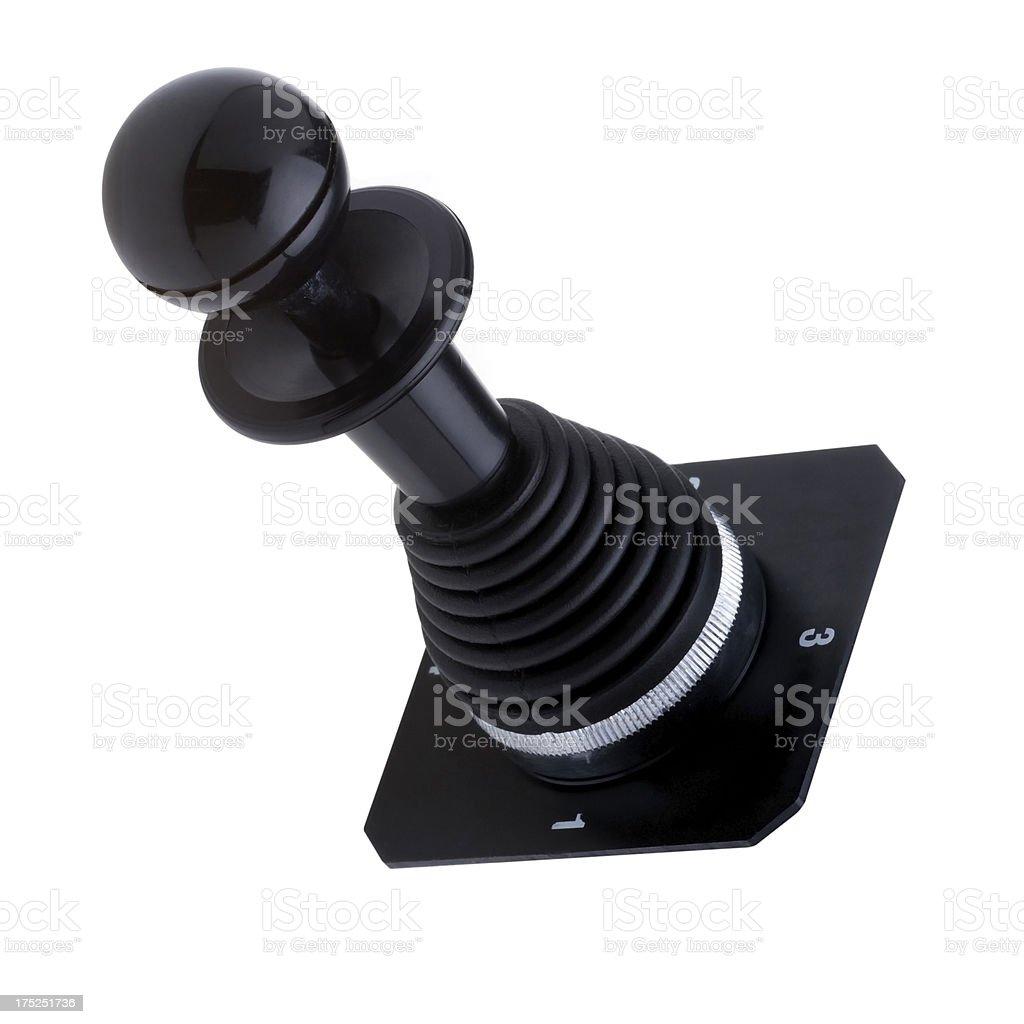Lever control stock photo
