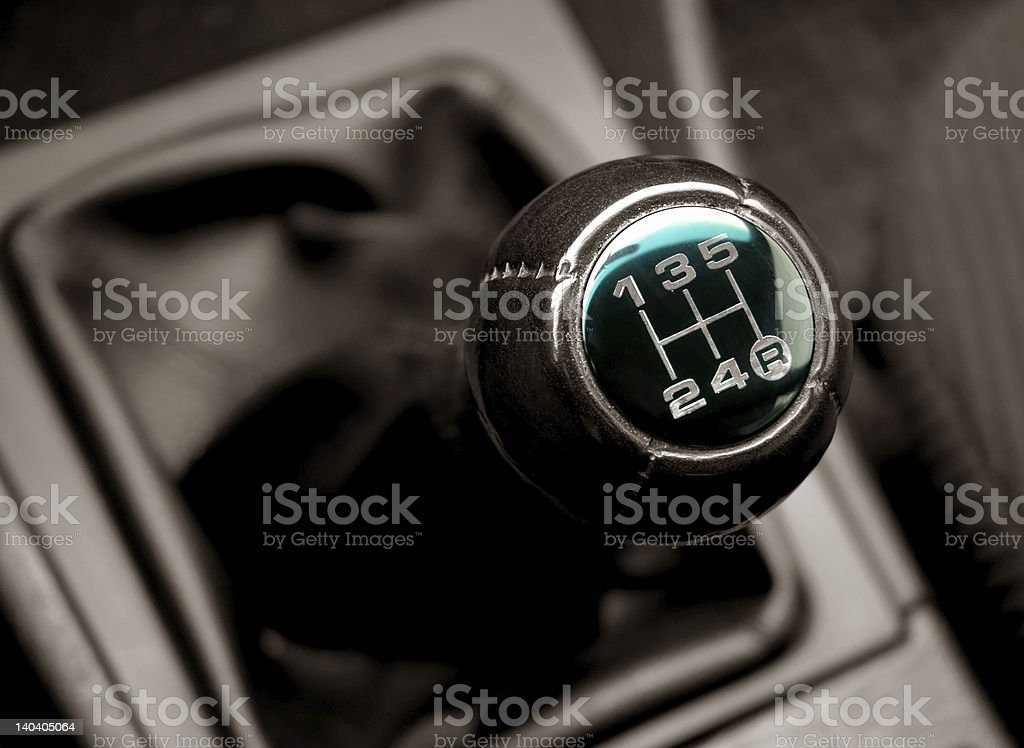 lever of switching transmissions an auto stock photo