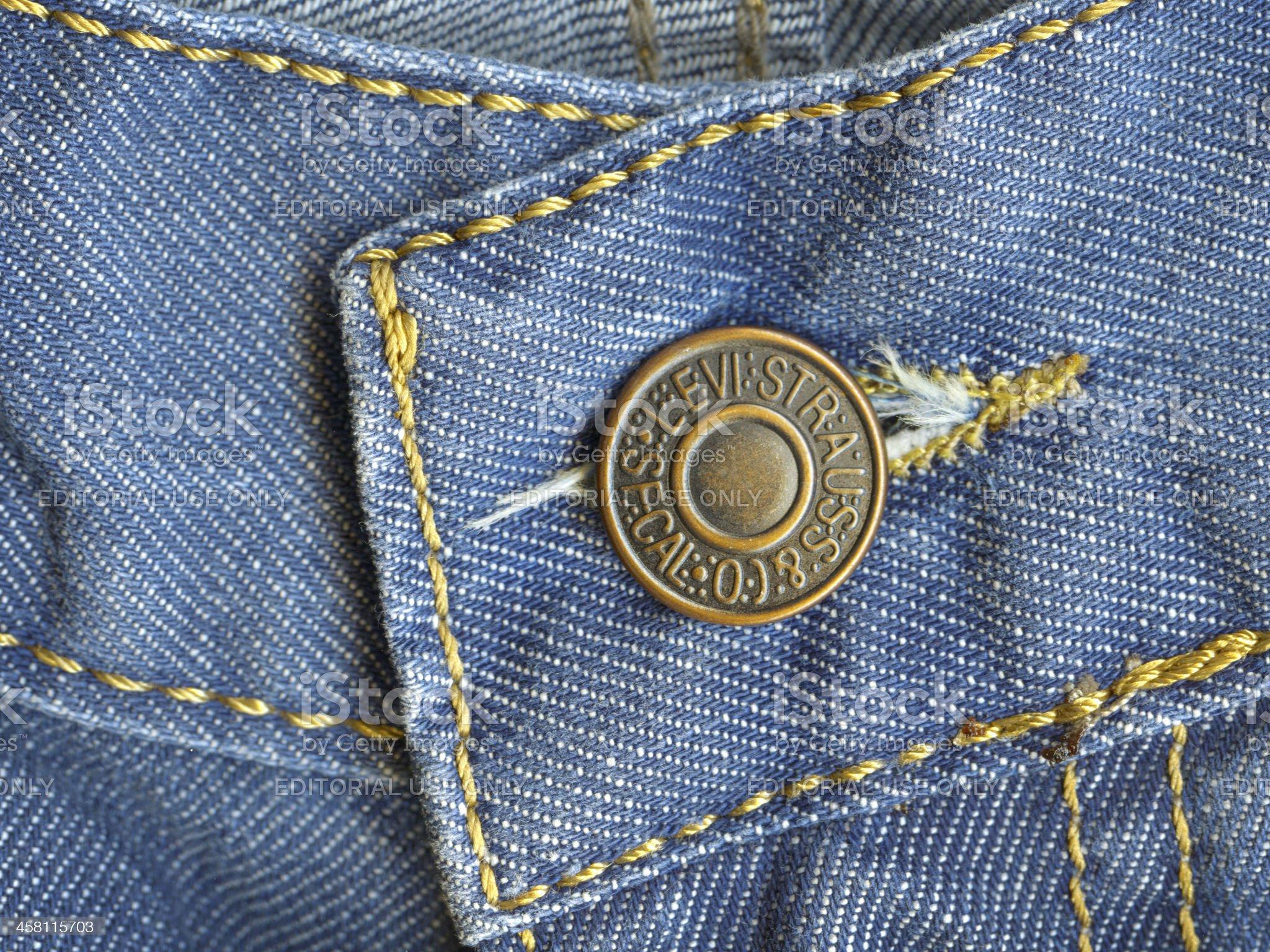 Levi Strauss Jeans royalty-free stock photo