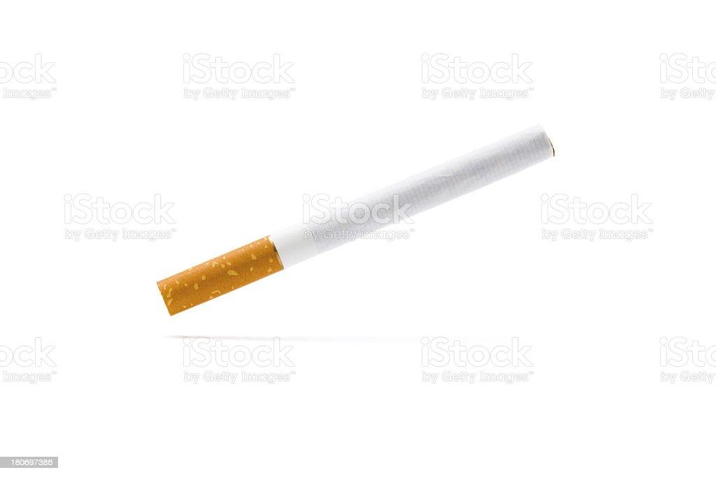 levitating cigarette royalty-free stock photo