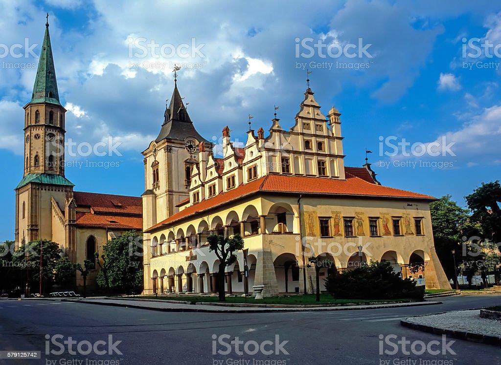Levoca, Slovakia stock photo