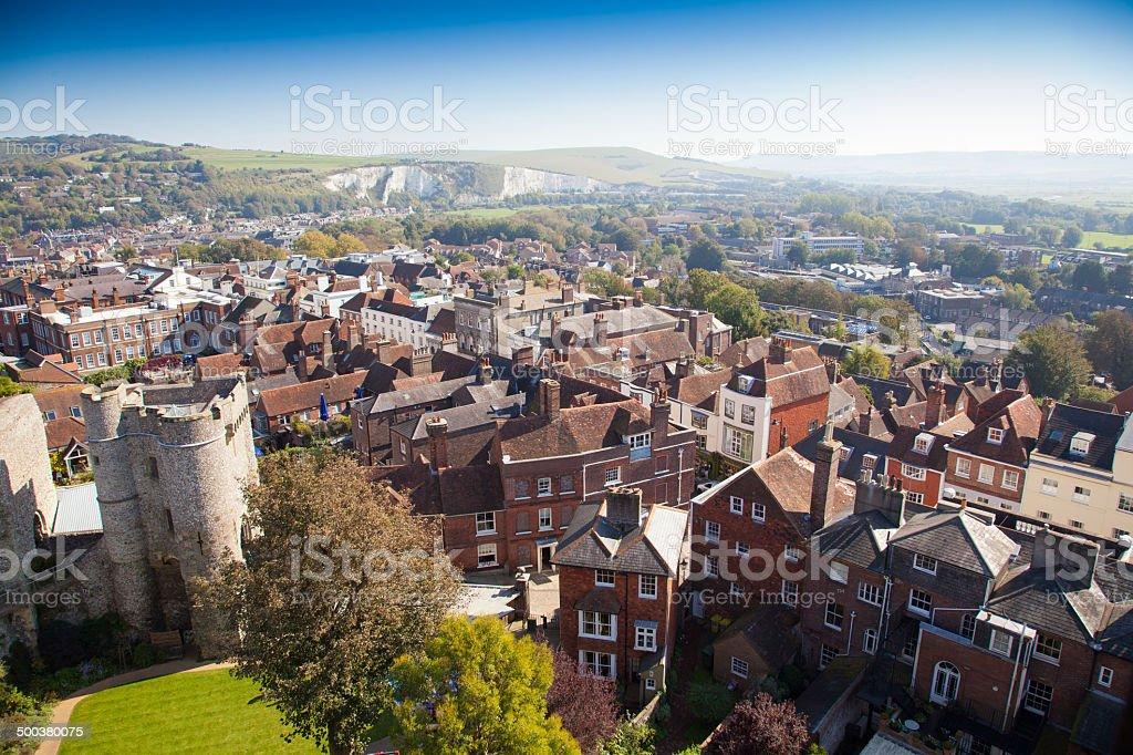 Lewes east sussex england,United Kingdom stock photo