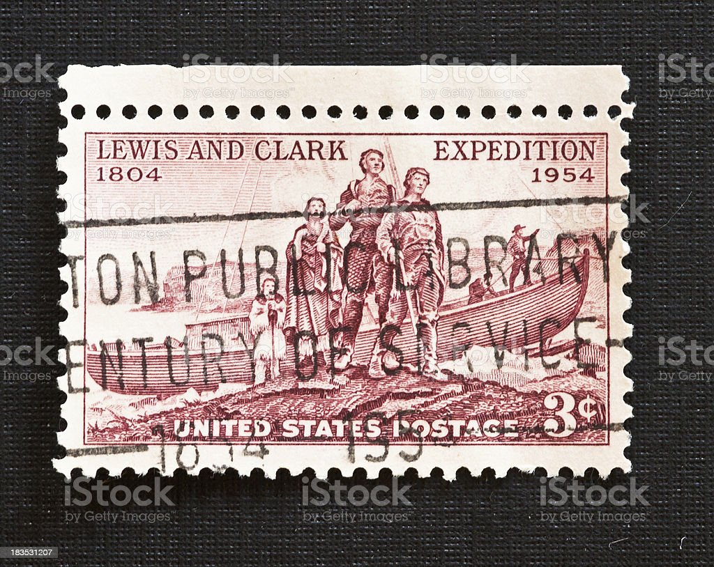 Lewis and Clark Expedition Sesquicentennial stock photo