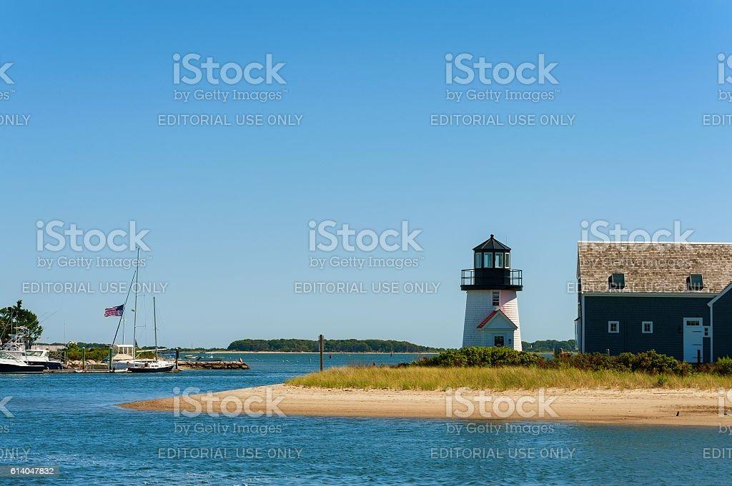 Lewis Bay Lighthouse stock photo