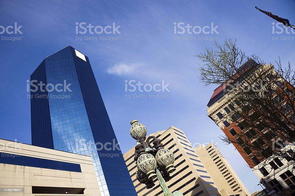 Lexington Buildings stock photo