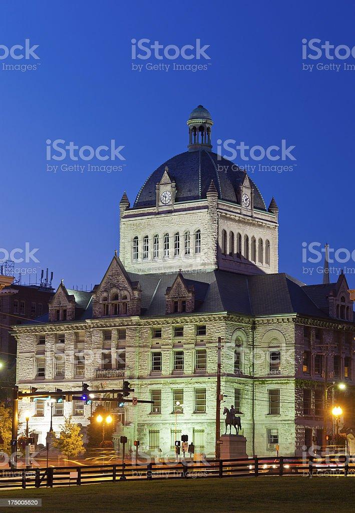 Lexington History Center royalty-free stock photo