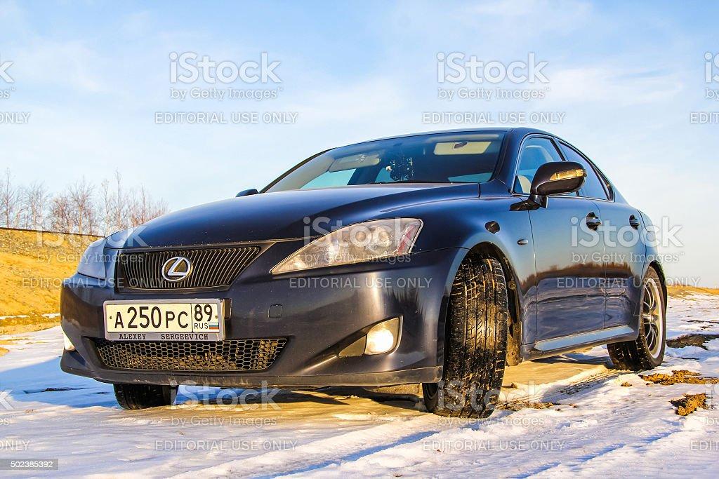Lexus IS250 stock photo