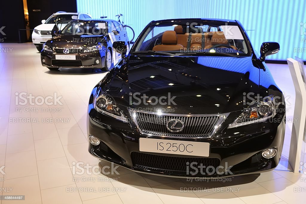 Lexus IS250C convertible stock photo