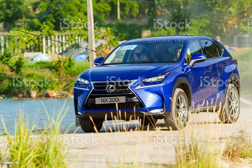 Lexus NX 200t car stock photo