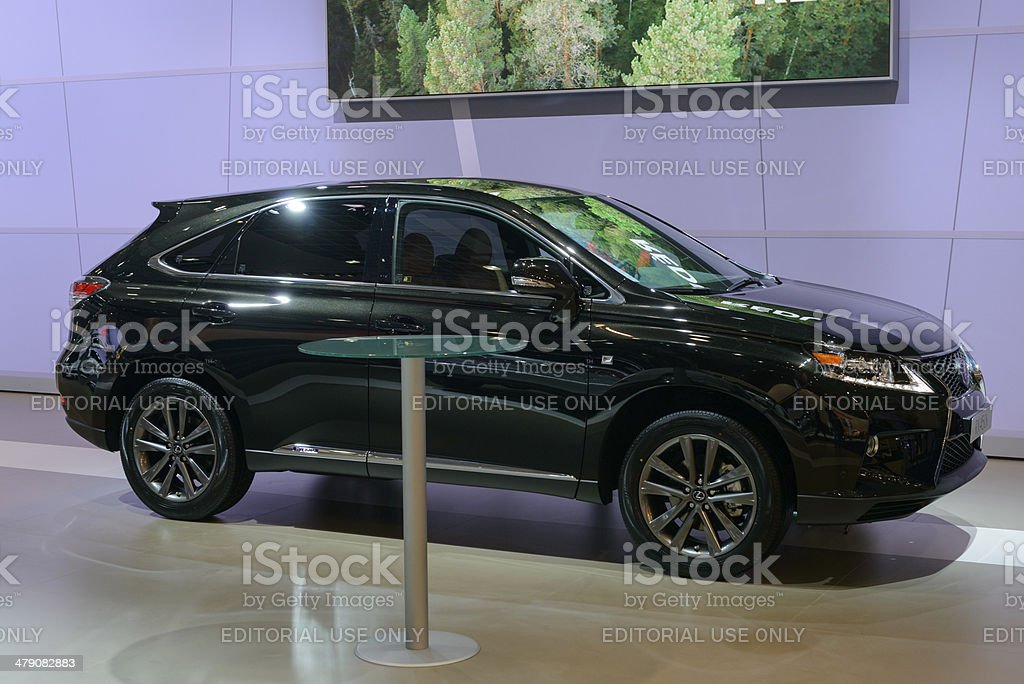 Lexus RX 450h stock photo