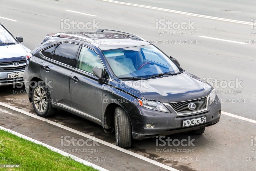 Lexus RX stock photo