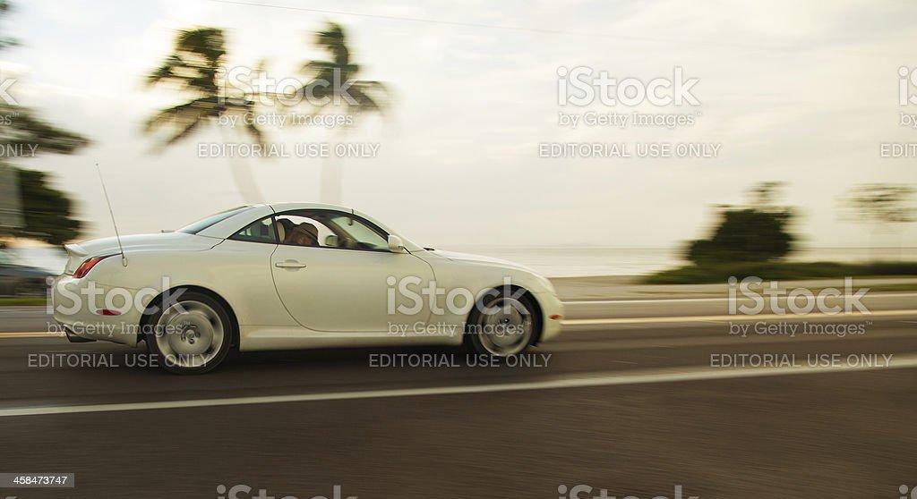 Lexus SC430 stock photo