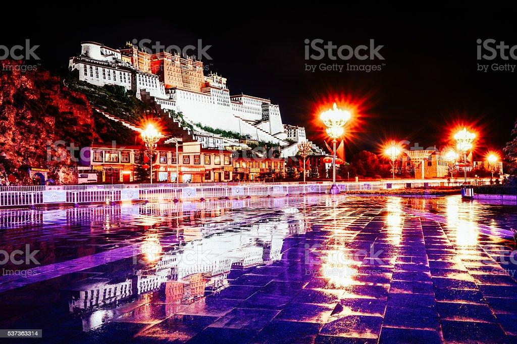 Lhasa,Tibet stock photo