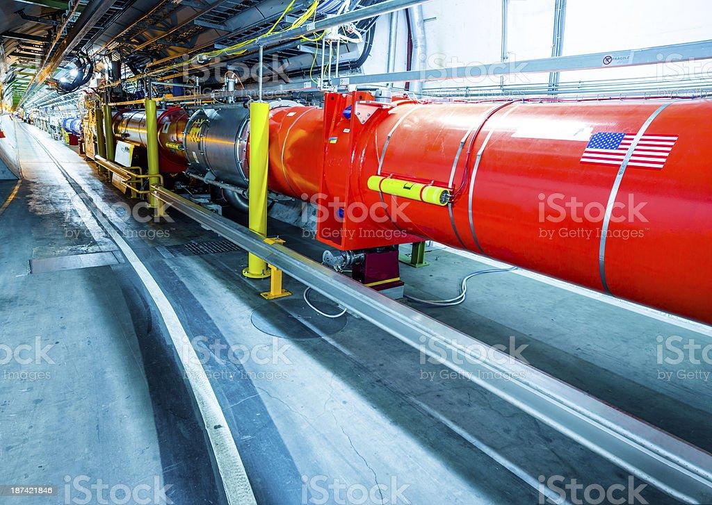 LHCb Experiment Detectors stock photo