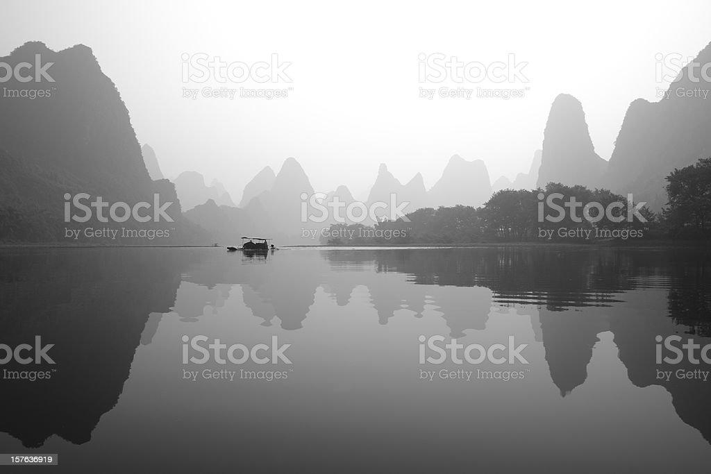 Li jing river royalty-free stock photo