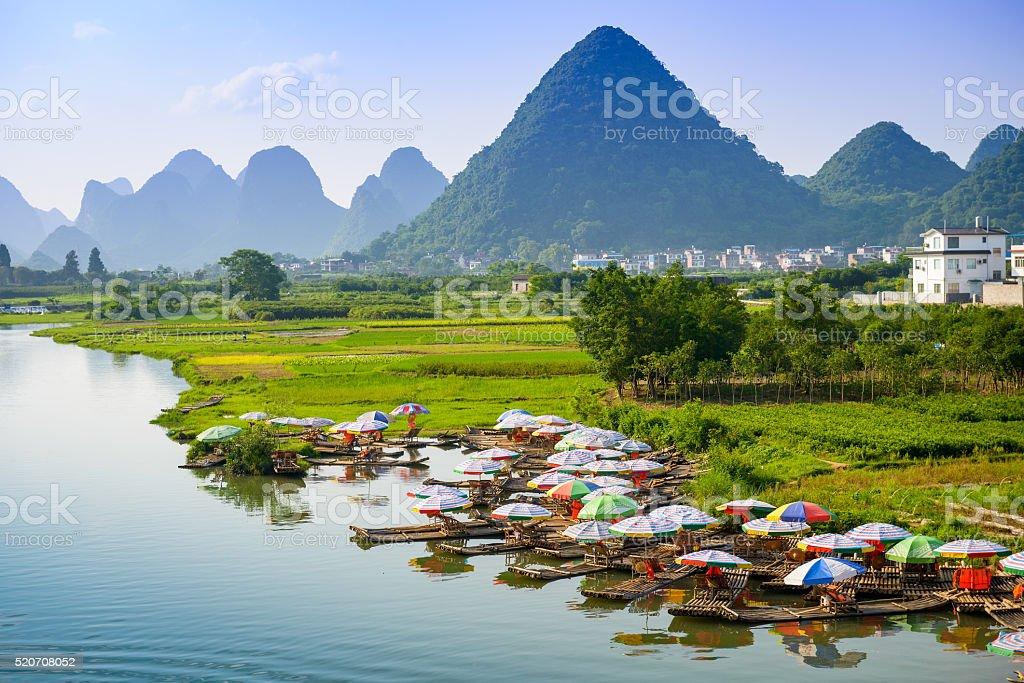 Li River China stock photo