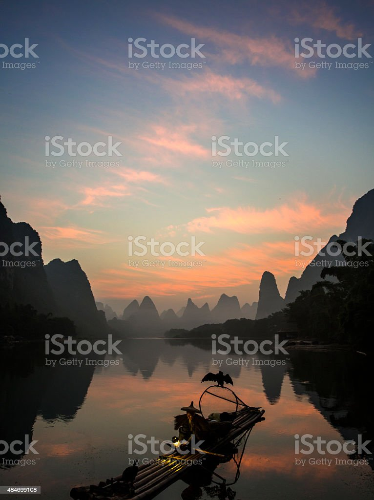 Li River stock photo