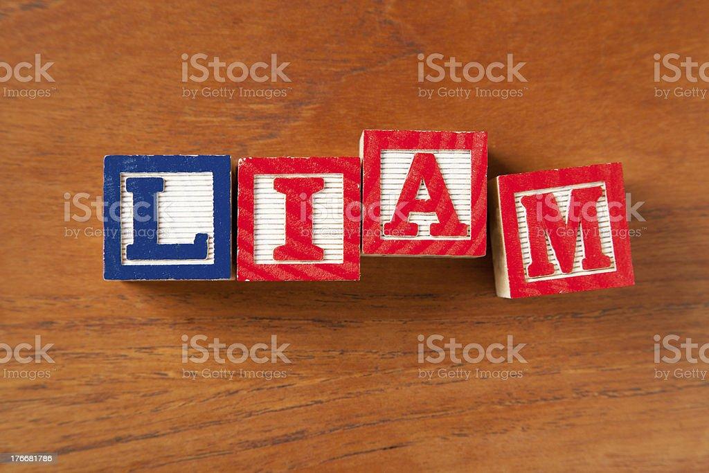 Liam royalty-free stock photo