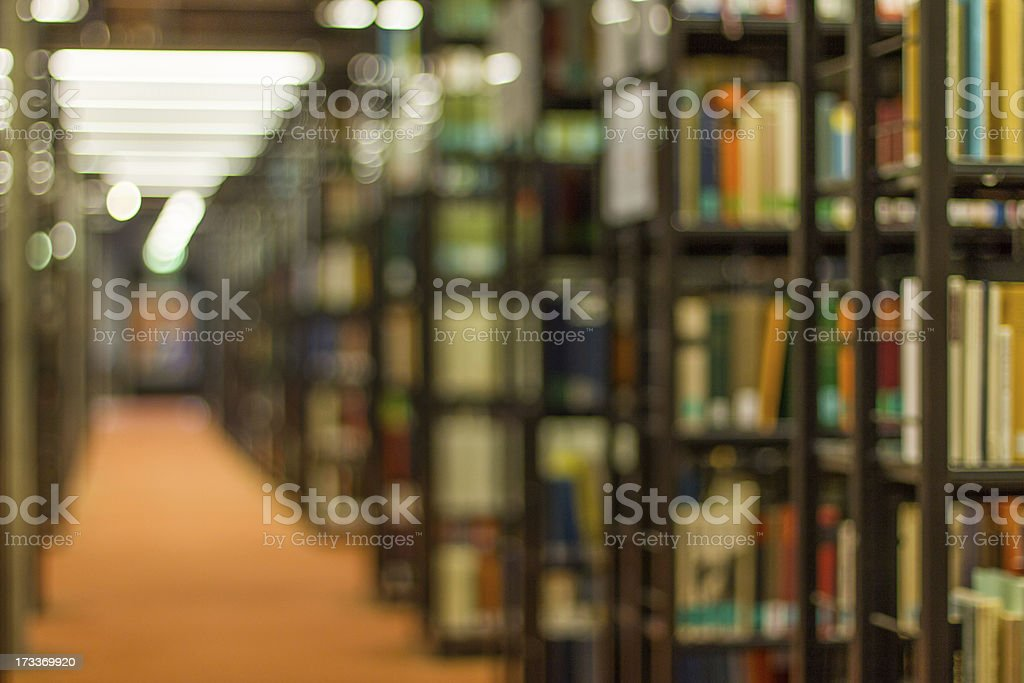libary blur background royalty-free stock photo