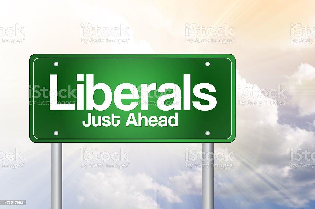 Liberals stock photo