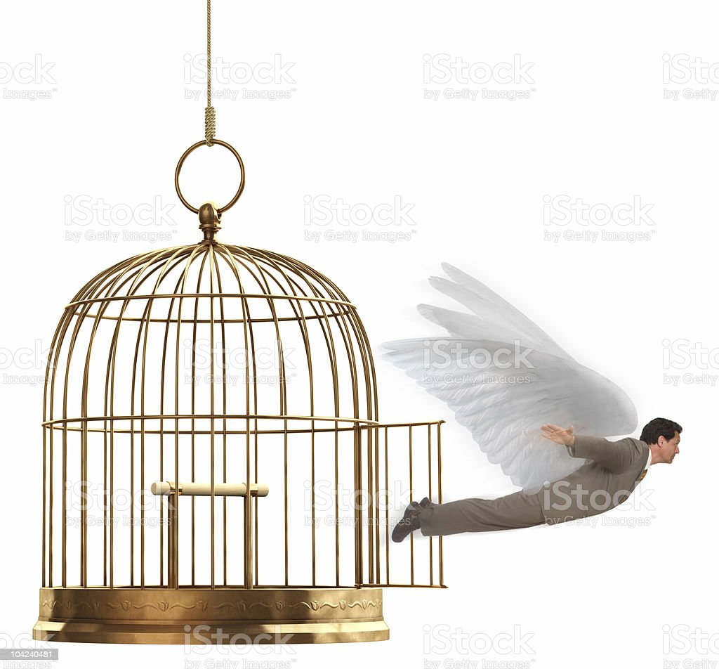 Liberation royalty-free stock photo