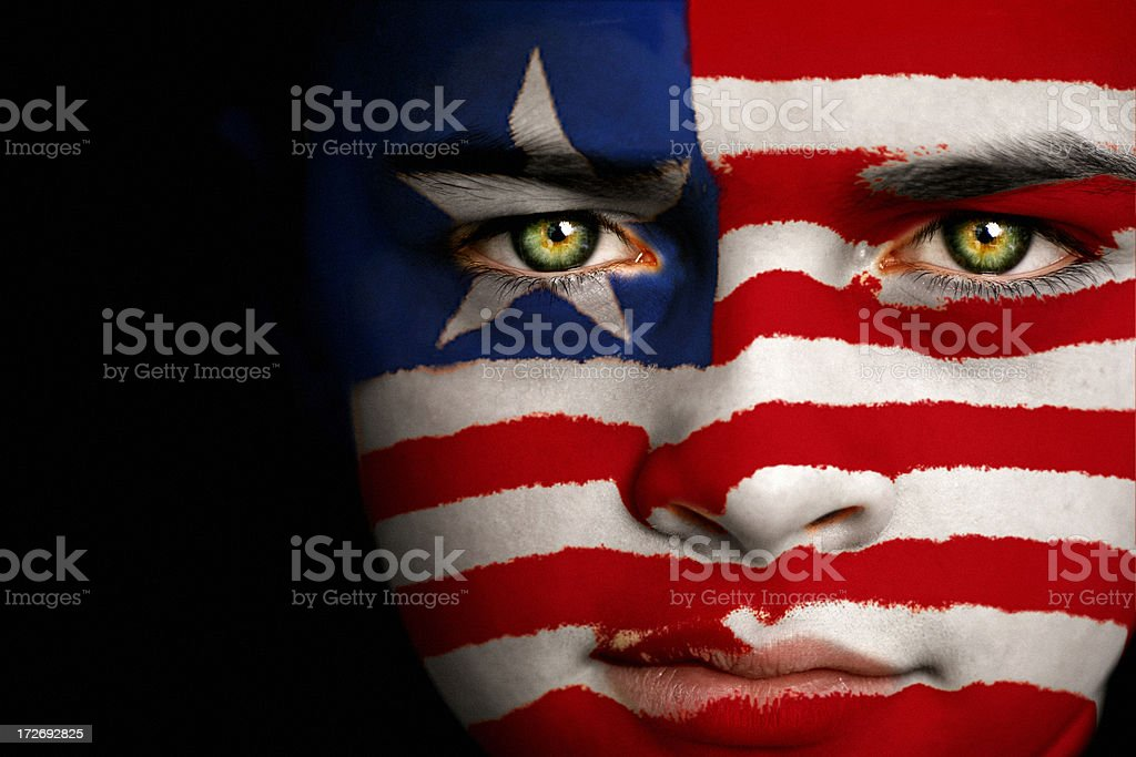 Liberia boy stock photo