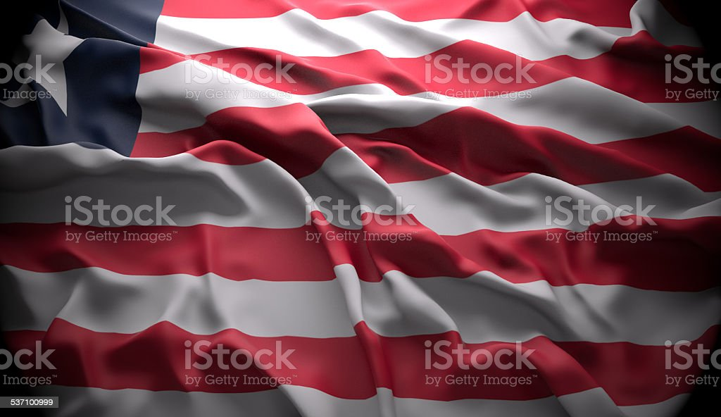 Liberia, Monrovia national official state flag stock photo