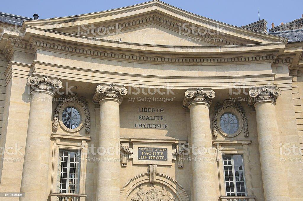 Liberté, Egalité, Fraternité. royalty-free stock photo