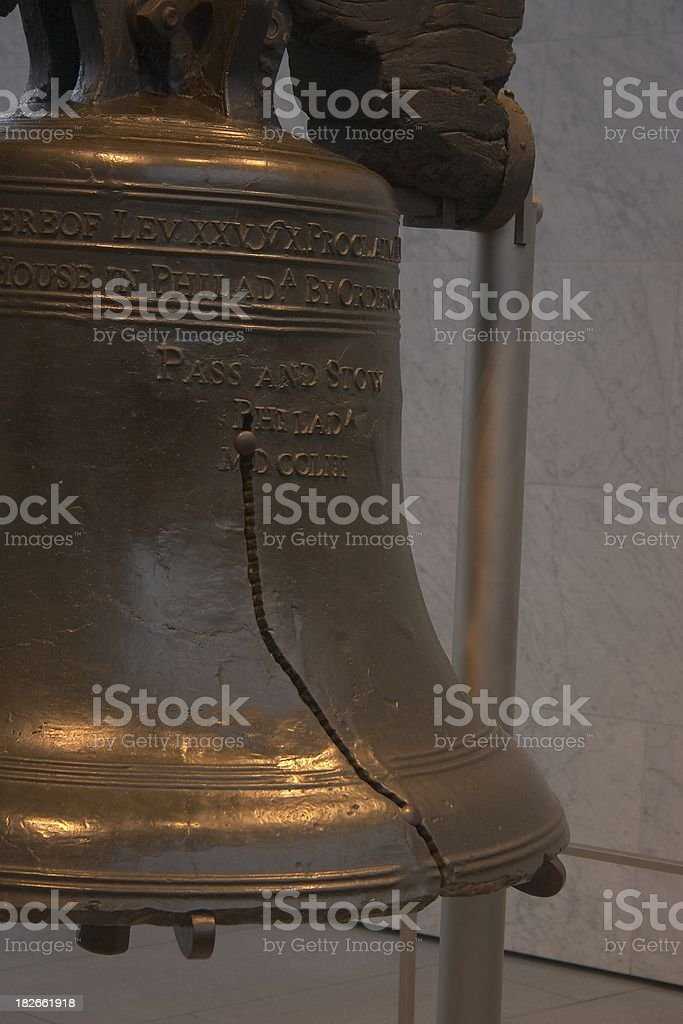 Liberty Bell Aside stock photo