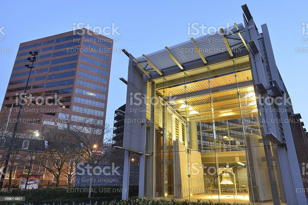 Liberty Bell Center stock photo
