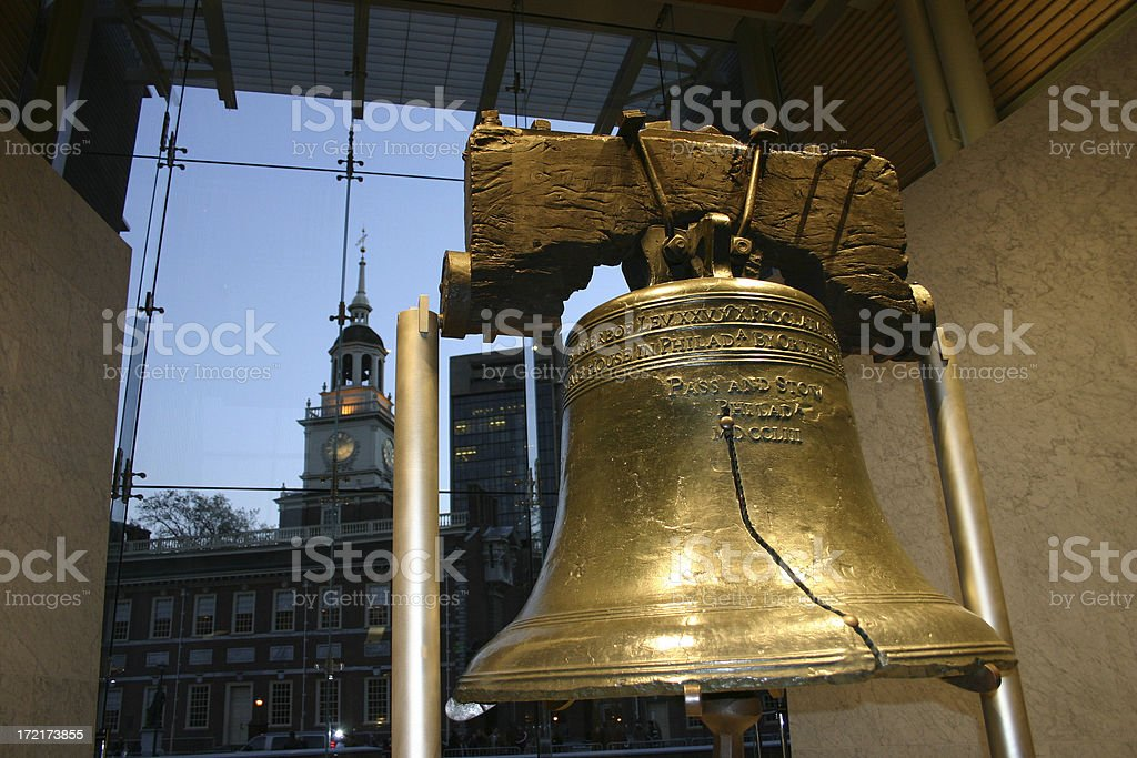 Liberty Bell Detail stock photo
