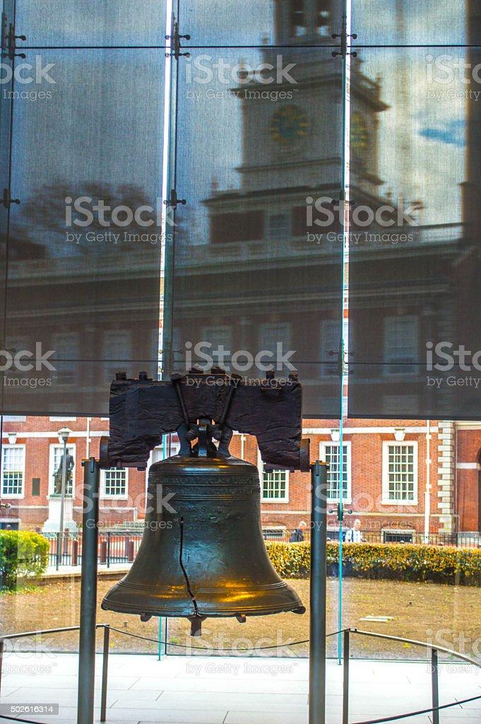 Liberty Bell in Philadelphia stock photo