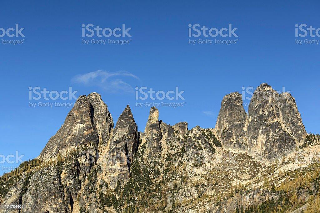 Liberty Bell Mountain royalty-free stock photo